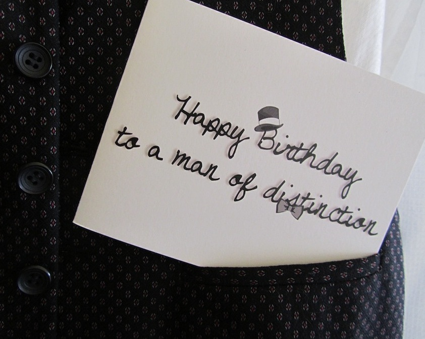 birthday card man – Birthday Card for a Man